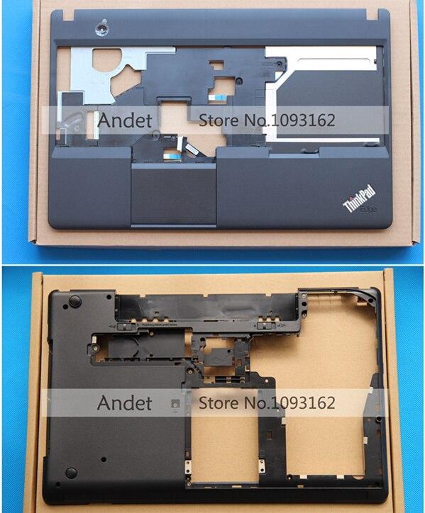 New Origina Thinkpad Lenovo E530 E535 E530C E545 Palmrest Upper Case+ Bottom Base Cover Case new for lenovo thinkpad t570 bottom base cover case 460 0ab0b 0001 01er012