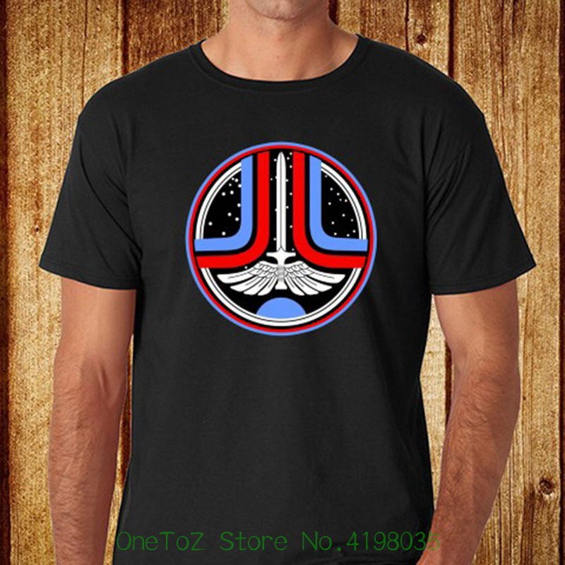 New The Last Starfighter 80's Space Movie Film Men's Black T-shirt Size S - 3xl O-neck Teenage T-shirt image