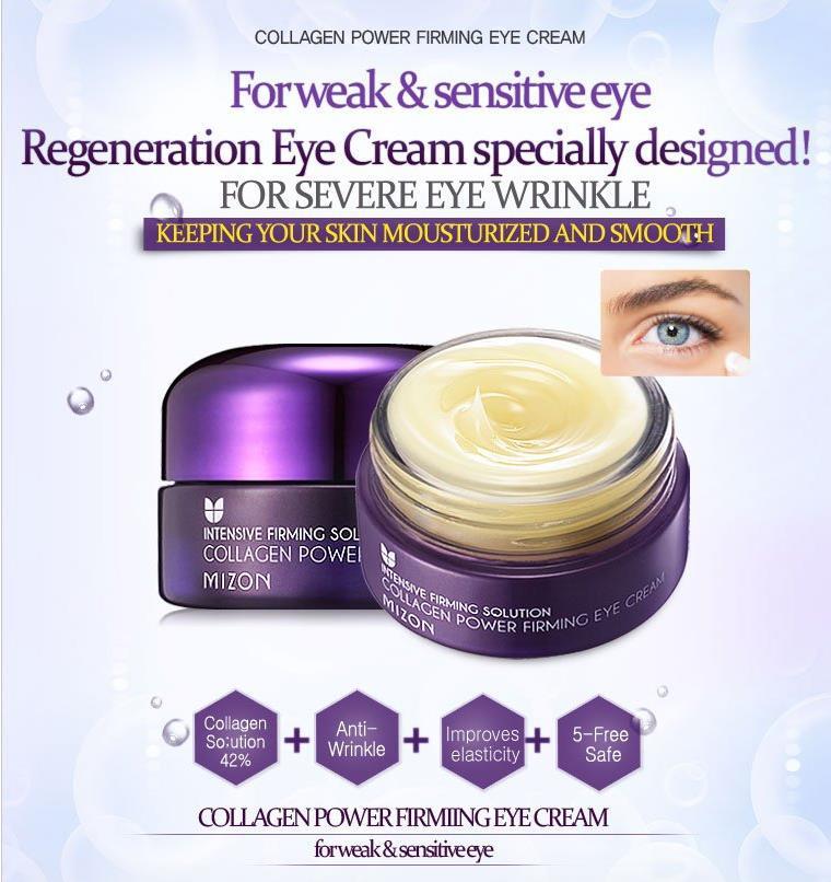 2e08a4ea413 MIZON Collagen Power Firming Eye Cream 25ml Remove Dark Circles Puffiness  Repair Eye Lifting Moisturizer Cream Korean Cosmetics on Aliexpress.com    Alibaba ...