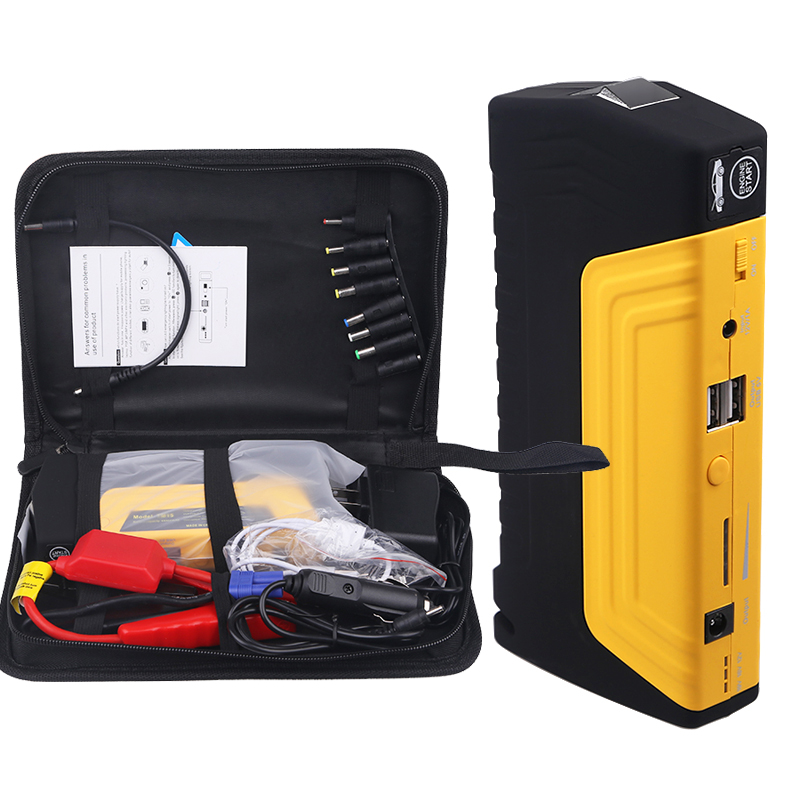 68800mAH Portable Jump Starter For Car Mini Emergency Starting Device Power Bank 600A Peak Auto Booster Charger Emergency Car