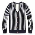 Homens Cardigan 2016 dos homens Novos da Chegada Ocasional Com Decote Em V Malha Cardigan Masculino Único Breasted Sólida Cadigan 2 Cores M-2XL tricots