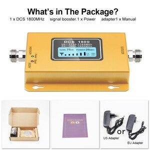 Image 5 - Impulsionador de lcd lte 1800, móvel com display de lcd, 2g/4g lte, dcs 1800mhz amplificador de telefone gsm, impulsionador de sinal