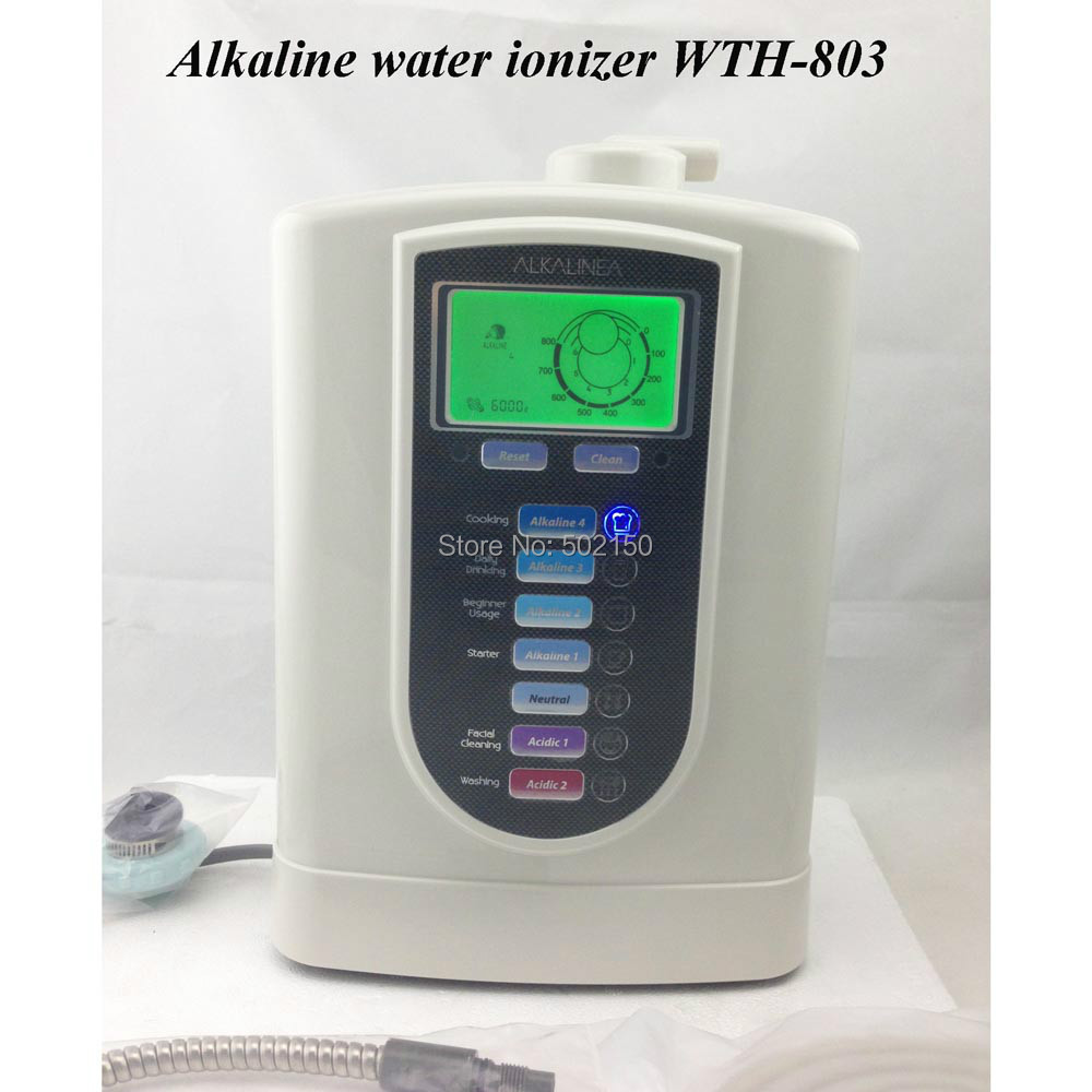2pcs/lot alkaline water purifier WTH-803 for home use, get healthier drinking water now! 110V