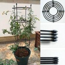 Прочный творческий лоза скалолазание стойки из ротанга стент цветок декоративные садовые инструменты овощи шпалеры Поддержка растений рама