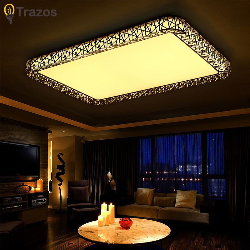 NEW 2018 Modern round led surface mounted ceiling lights lamp light Home Livingroom Bedroom led ceiling Lamps Free Shipping lego lego technic 42048 лего техник гоночный карт