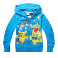 2016 Cartoon Boys Hoodies Jackets Brands100% Cotton Zipper Boys sportsuit Children Long-Sleeved Outerwear Jacket Kids sweater