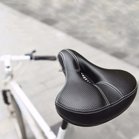 New Cycling Wide Comfort Cushioned Bike MTB Bicycle Seat Soft Padded Gel Saddle
