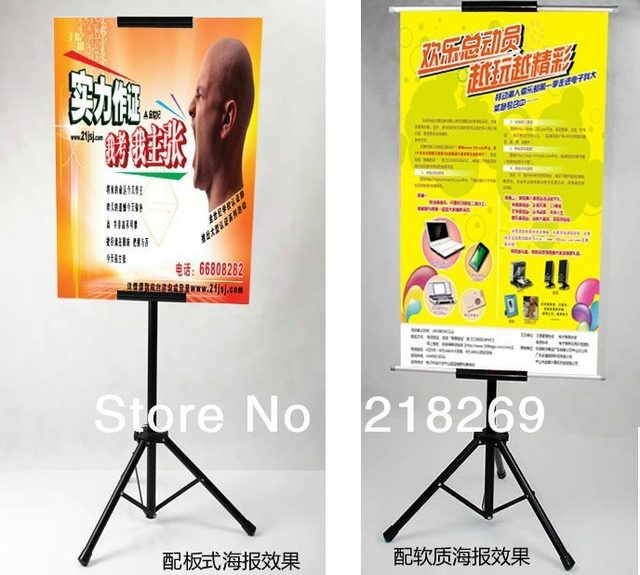 Hanging banner display, Tripod hanging banner display stand, triangle hanging banner display