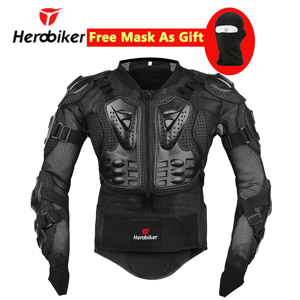 HEROBIKER Motorcycle Protection Moto Armor Protector Motorcycle Protective Gear Motocross Off-Road Racing Body Protector Jacket brand new motorcycle armor protector motocross off road chest body armour protection jacket vest clothing protective gear p14