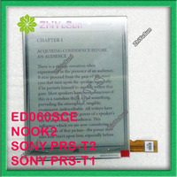 100 New Original PVI 6 Inch ED060SCE ED060SCE LF T1 E Ink Display For NOOK2 SONY