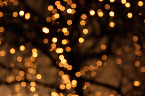 Bokeh Glitter Lights Background Vinyl Photography