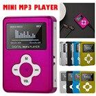 NEW Hifi Portable Mirror Mini USB Digital LCD Screen Mp3 Music Player Support 32GB SD TF Card USB Cable Fashion Drop Shipping
