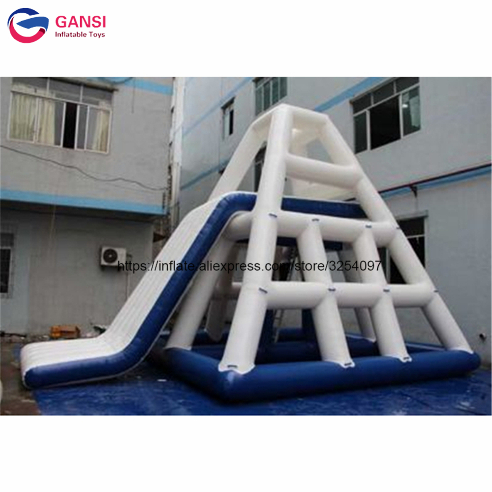 7mL*5mW*4mH giant inflatable slide for adult floating air water park equipment for adult and kids inflatable water slide inflatable water slide bouncer inflatable moonwalk inflatable slide water slide moonwalk moon bounce inflatable water park