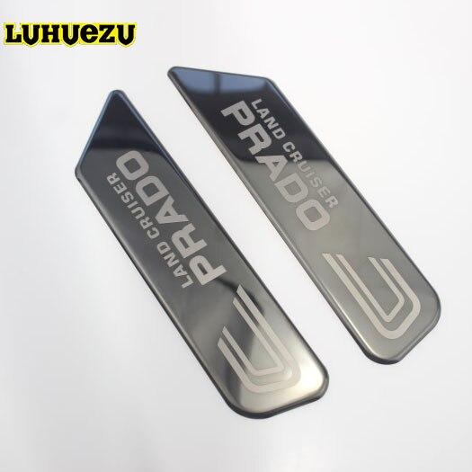 Stainless 3D NamePlate Body Sticker For Toyota Land Cruiser Prado FJ150 2010 2011 2012 2013 2014 2015 2016 2017 2018 Accessories