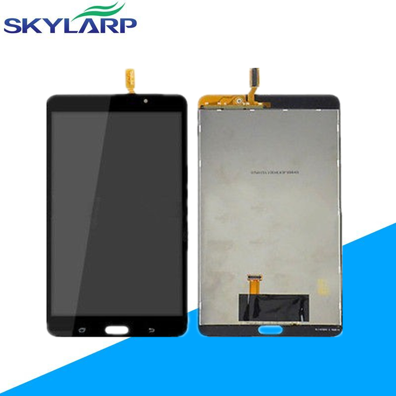 for Samsung for Galaxy Tab 4 7.0 SM-T230 T230 Full LCD Display Panel + Black Touch Screen Digitizer Glass Assembly Replacement