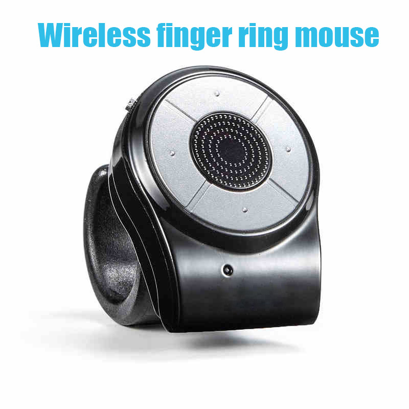 New 2 4G wireless mini finger mouse Ring wireless rechargeable mouse for Speech conference remote control