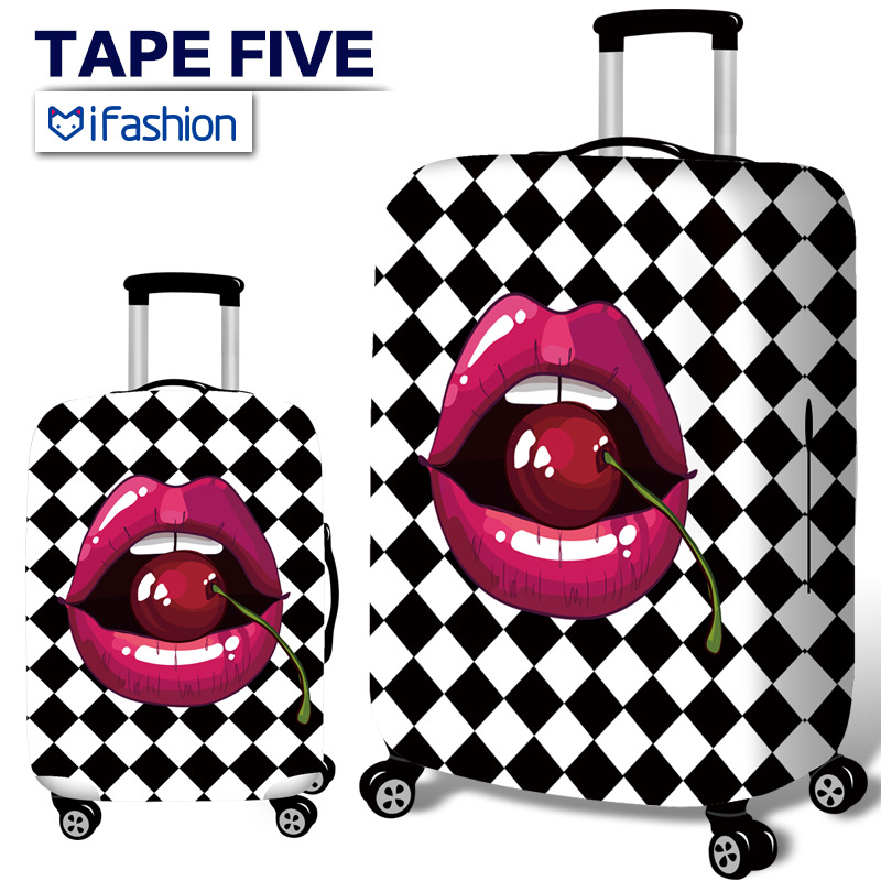 High Quality Elastic Suitcase Protective Lips Sleeve Suitcase Luggage Case Cover 20/24/28/30 Inch Thick and Wear Resistant