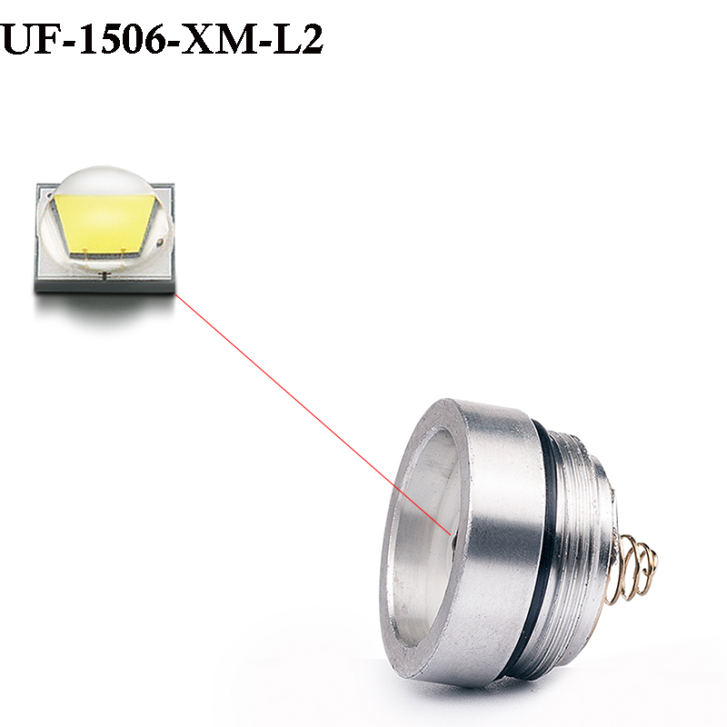 UniqueFire CREE XM-L2 Strong White Light LED Drop in Pill 5Modes(High/Mid/Low/Strobe/SOS)Lamp Holder f.UF-1506 Flashlight Torch