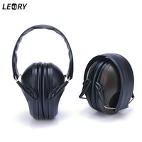 LEORY Foldable Headphone Headset Noise Reduction Earmuff Hearing Protection For Shooting Hunting Ear Protector