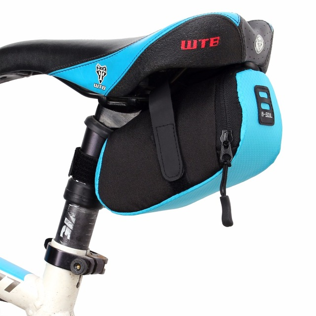B Soul Outdoor Waterproof Bicycle Back Seat Bag Saddle Cycling Mountain Bike Pouch