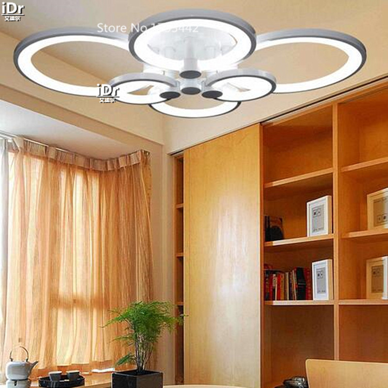 Atmospheric living room bedroom den creative personality circular ring Promise dimming lights Ceiling Lights XXT-012 promise