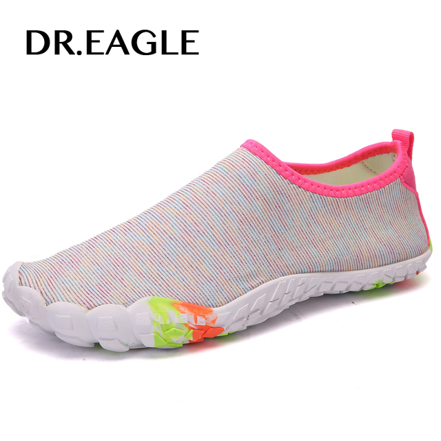be2c00acacdb Dr.eagle Quick-drying Women Sneaker Swimming Slippers Rubber Water Shoes  For The Beach Wading Boots Swim Shoes Ladies Shoe sea