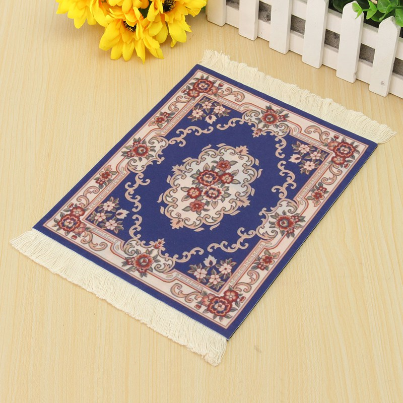 Gaming Mouse Mat Pad Universal Persian Carpet Mousepad With Tassel For  Computer Laptop Christmas Gift Home