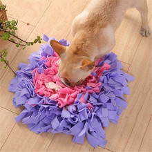Pet Dog Sniffing Mat Find Food Training Interactive Play Toys Dog Feeding Mat For Relieve Stress