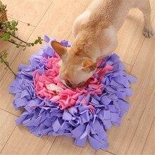 Pet köpek koklama Mat bulmak gıda eğitim interaktif oyun oyuncaklar köpek besleme matı stres rahatlatmak için