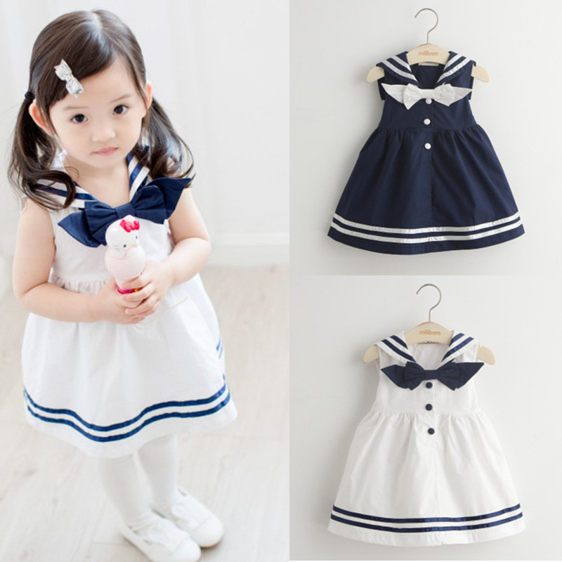 Baby Girl Dress Girls Summer 2017 Fashion Design White Navy Stripe Bow Dresses Girl Sailor Clothes Boutique Cosplay Costume 我的第一本数学童话·数的基础·10以内数字的拆分与组合:去送圣诞礼物喽(适读3 6岁)
