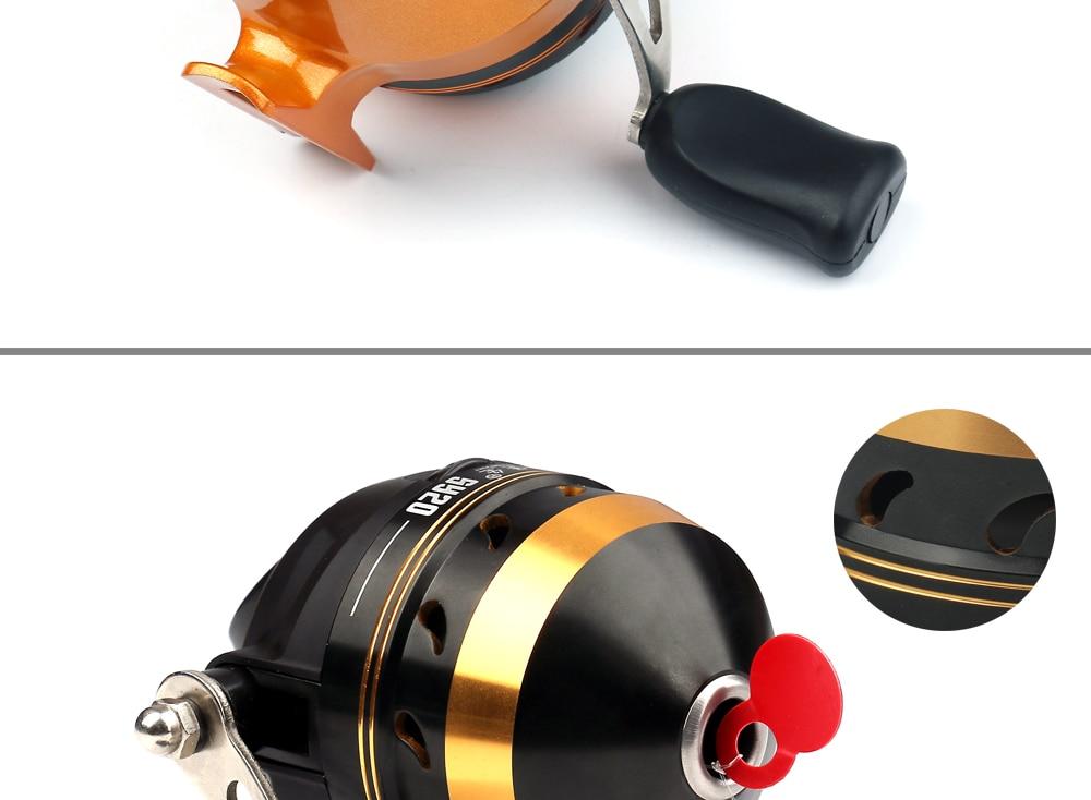 Fishing alloy Fish Spincast 6
