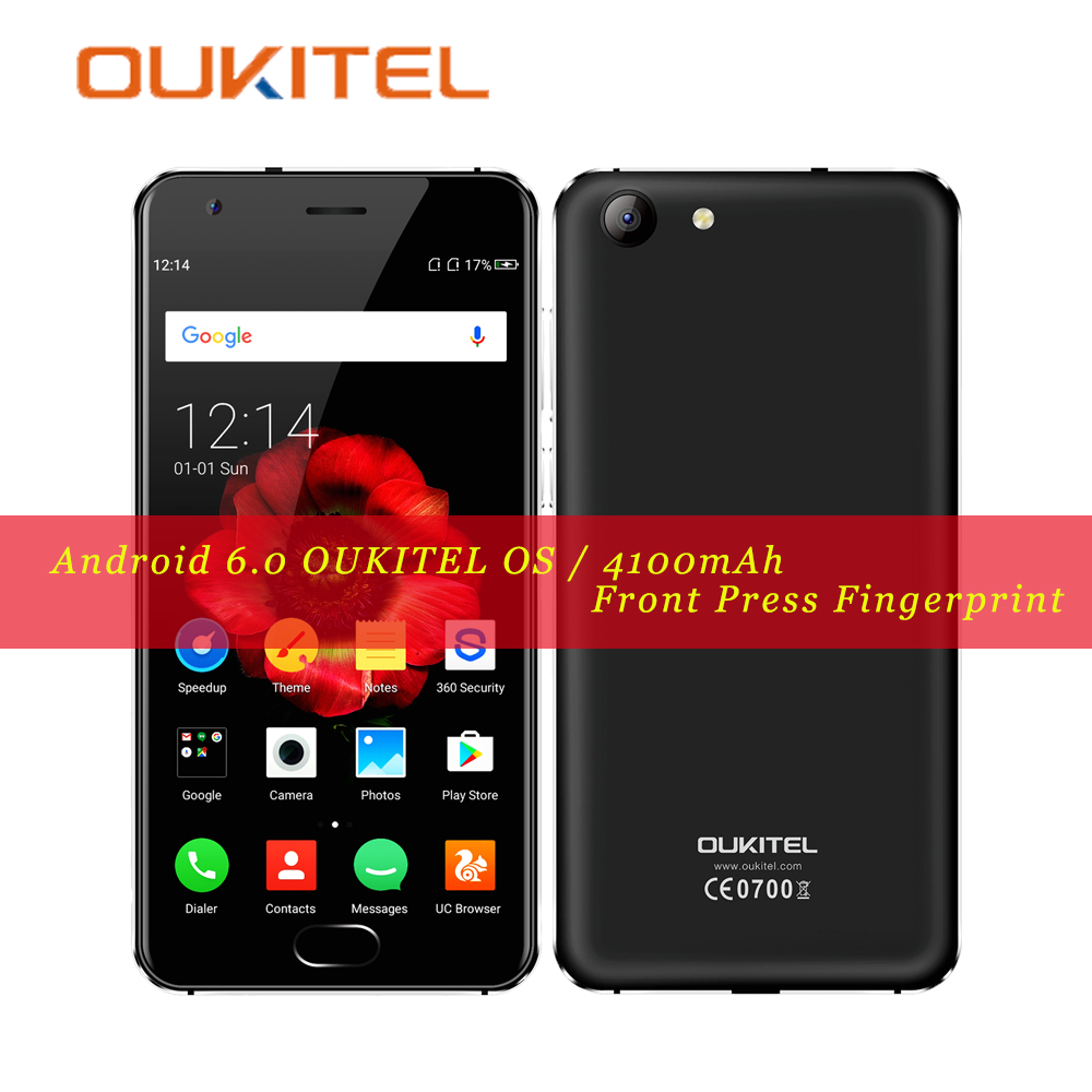 OUKITEL K4000 Plus Smartphone MT6737 1 3GHz Quad Core 16G ROM 2G RAM Android 6 0