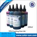 Новый Бесплатный Покрытие TPU Чернила 6 цветов (CMYKLCLM) с Жидкостью Для Очистки Использовать для Планшетный Принтер