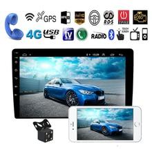 """10.1 """"2 Din Android 8.1 Car Stereo GPS di Navigazione per Auto Bluetooth Radio 1 GB di RAM 16 GB di ROM Auto MP5 No Lettore DVD multimediale"""