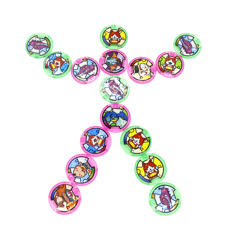 Image 4 - Japanese Anime Yokai Watch DX Peripheral  Yo Kai Wrist Watch Medals Collection Emblem Toy-in Action & Toy Figures from Toys & Hobbies