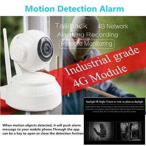 Image 5 - 3G 4G Wireless WiFi Kamera 1080P 720P HD SIM Karte Mobile Home Security Surveillance IP Kamera nacht Vision Baby Monitor Onvif