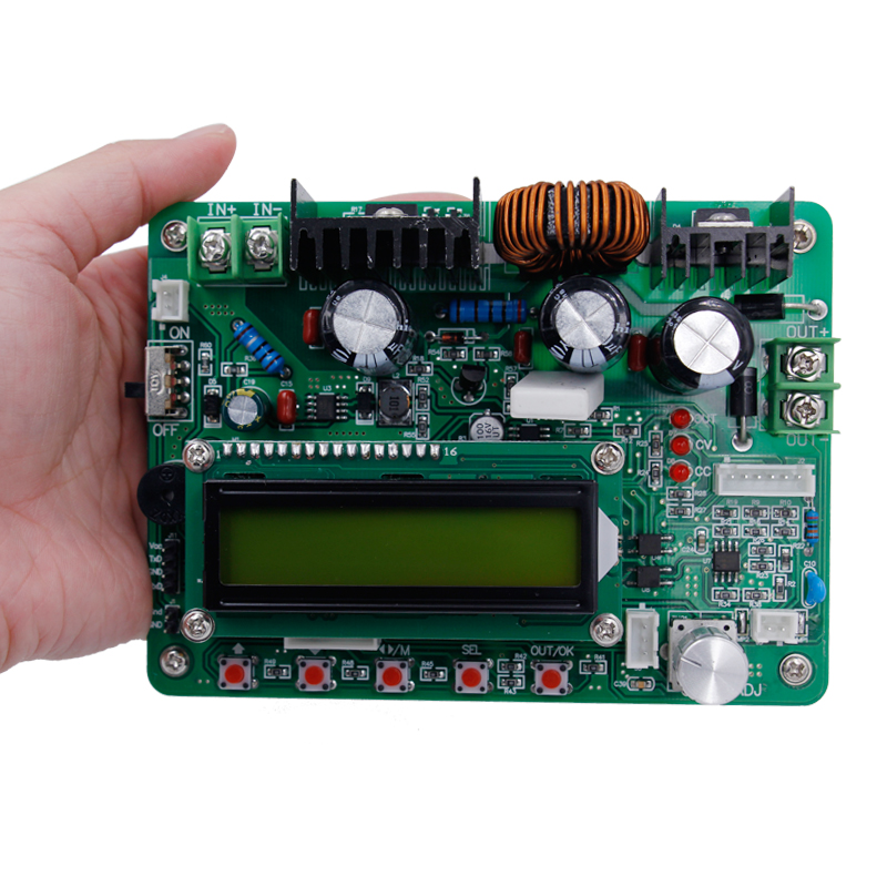 ZXY6005 Ammeter voltmeter Full CNC constant voltage constant current regulated power supply  DC-DC 60V /5A/ 300W diy kit dc dc adjustable step down regulated power supply module belt voltmeter ammeter dual display