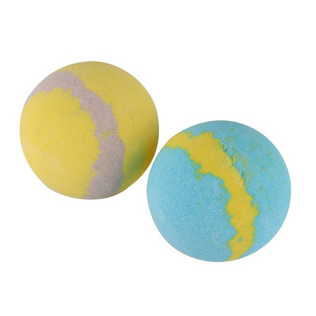 Moisturizing Bubble Bath Bomb Ball Essential Oil Lemon & Sea Bath SPA Stress Relief Exfoliating Bath Salt Bathing Accessories 1
