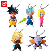 """Dragon Ball Super"" Original BANDAI Gashapon Toy Figure UDM EXPLOSÃO 31-Conjunto de 5 pcs Son Goku (Ultra Instinct) android 18 Vegetto(China)"