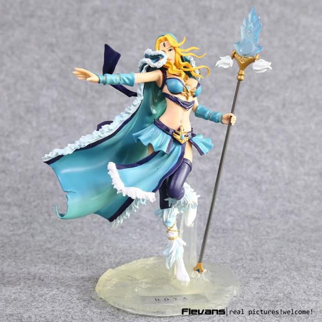 DOTA 2 Crystal Maiden PVC Action Figure Collectible Model Toy 20cm LLFG068