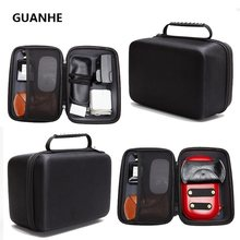 GUANHE Case bag for 3.5 inch Hard Drive / External DVD Drives / earphone/ U disk/mouse/tablet/Power bank/headset Organizer Bag(China)