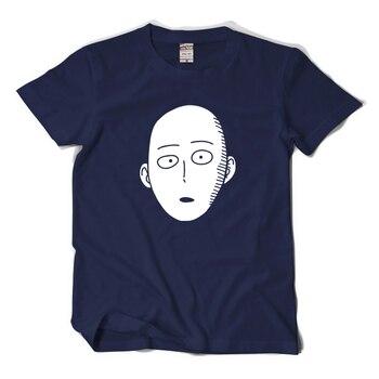 New One Punch Man Saitama cosplay t-shirt Cartoon Cool Men tshirt Women Cotton Loose Short-sleeve Tees tops