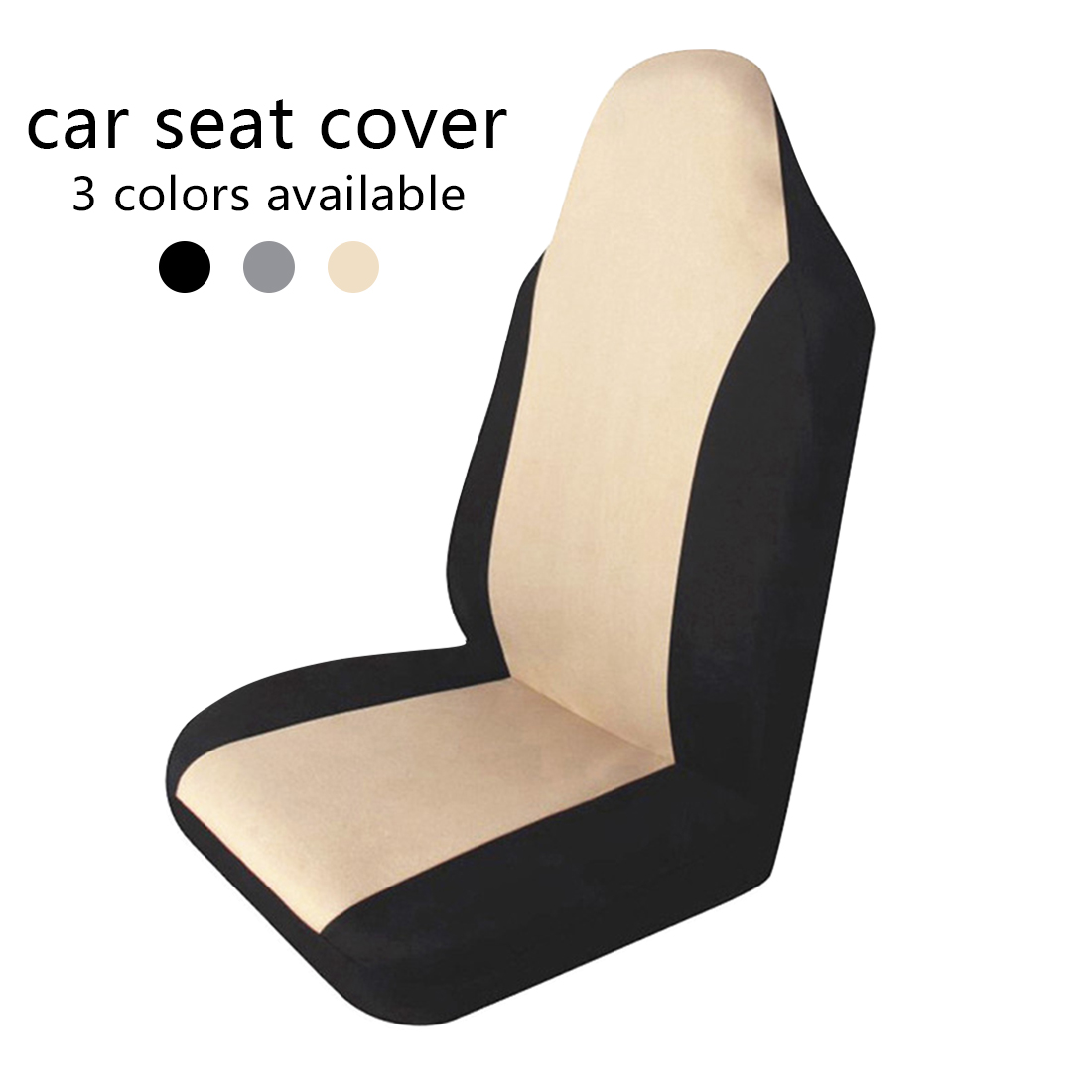 Dewtreelita Car Seat Cover One-piece Universal Seat Cushion Breathable Anti-Dust Auto Seat Cushion Mat Protective for Car SUV car seat
