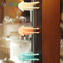 3Pcs/Lot Protecting Baby Safety Security Lock For Sliding Door Latch Window Child Protection From
