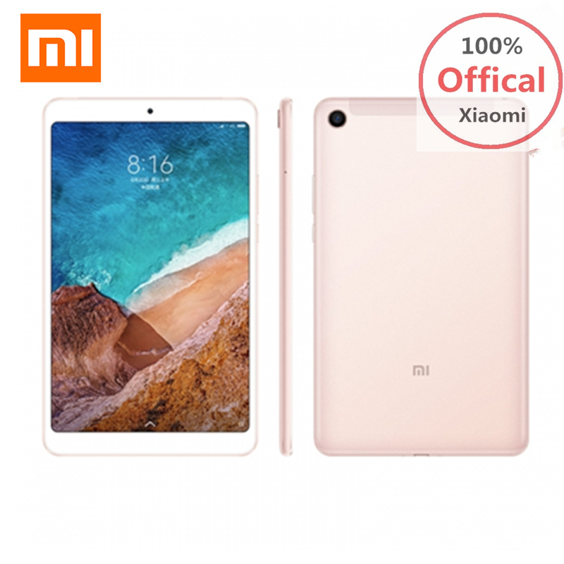 Xiaomi Mi Pad 4 Tablet PC 8.0'' MIUI 9 Qualcomm Snapdragon 660 Octa Core 4GB+64GB 5MP+13MP Double HD Cameras Dual WiFi Tablets original xiaomi mi pad 4 tablets wifi lte 4gb 64gb 8 0 inch tablet pc snapdragon 660 aiecore 12 0mp 5 0mp 6000mah tablet android