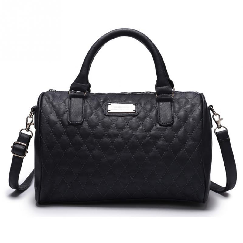 Plaid Clutches Women Crossbody Black Bag Quilted Flap Shoulder Bag Women Messeng