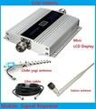 GSM Display LCD!!! GSM 900 Mhz Mobile Phone Signal Booster, GSM Repetidor de Sinal, Amplificador de Telefone celular + Antena Yagi 1 Conjuntos