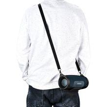 غطاء حماية من السيليكون للبشرة مزود بحزام تعليق لمكبر صوت JBL Charge 4 محمول لاسلكي يعمل بالبلوتوث