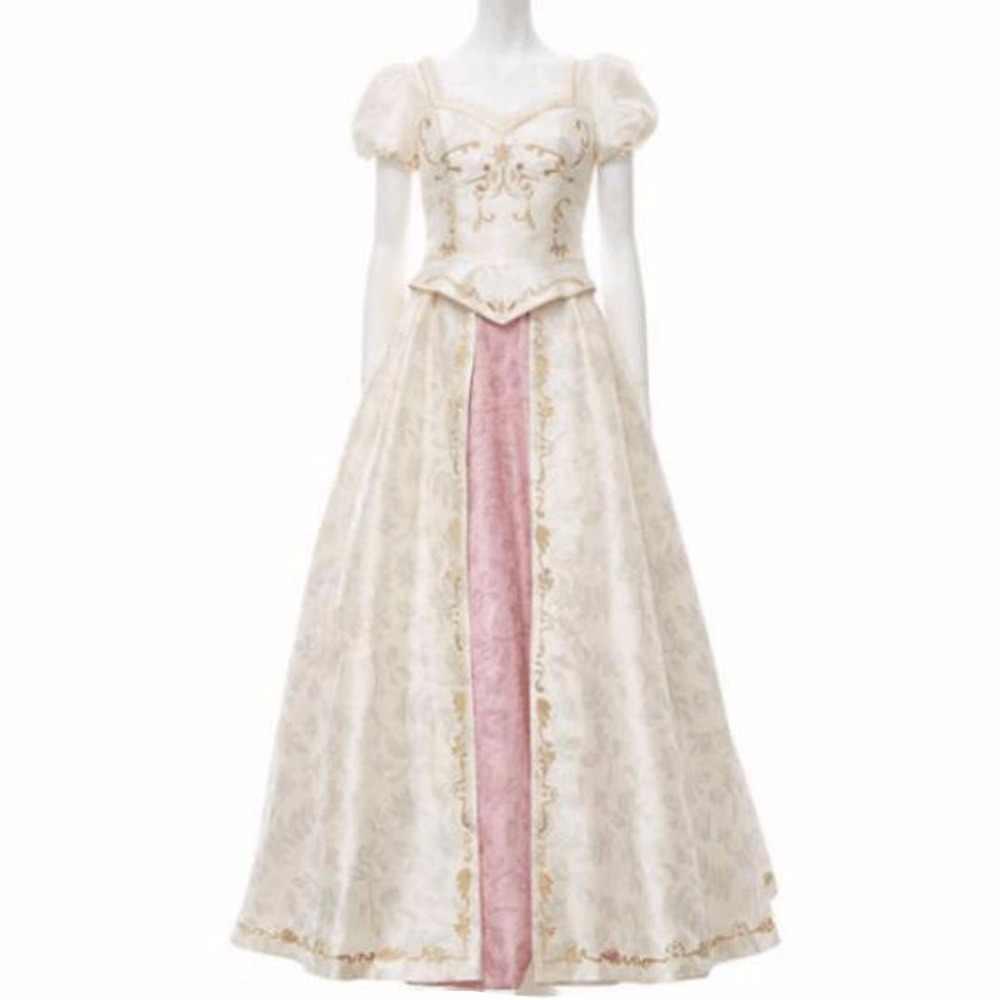 2018 New Style Tangled Beautiful Rapunzel Princess Wedding Dress