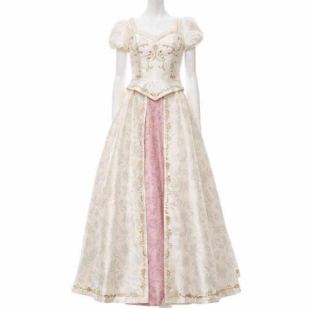 2018 New Style Tangled Beautiful Rapunzel Princess Wedding Dress Costume Cosplay Dress For Party For Christmas 2 Styles Choosing Cosplay Dress Wedding Dress Costumecostume Cosplay Aliexpress